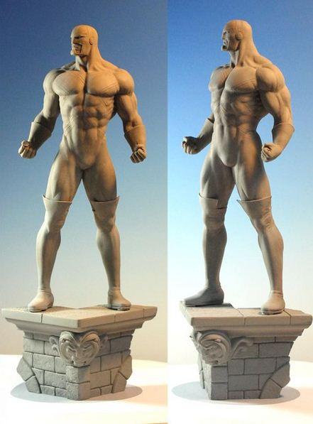 Mark Newman. Мелкая скульптура. Седьмая