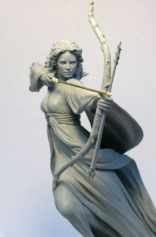 Mark Newman. Мелкая скульптура. Серафина