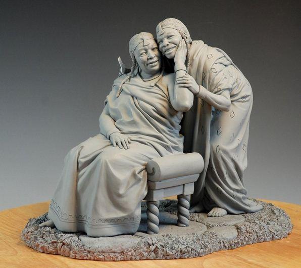 Mark Newman. Мелкая скульптура. Сестры