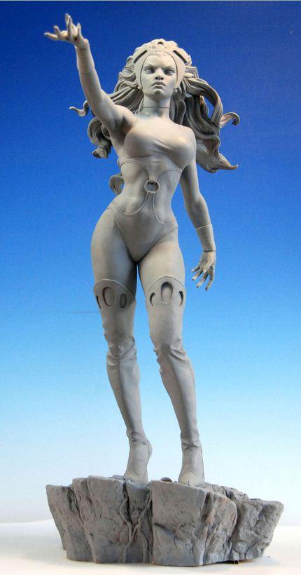 Mark Newman. Мелкая скульптура. Третья