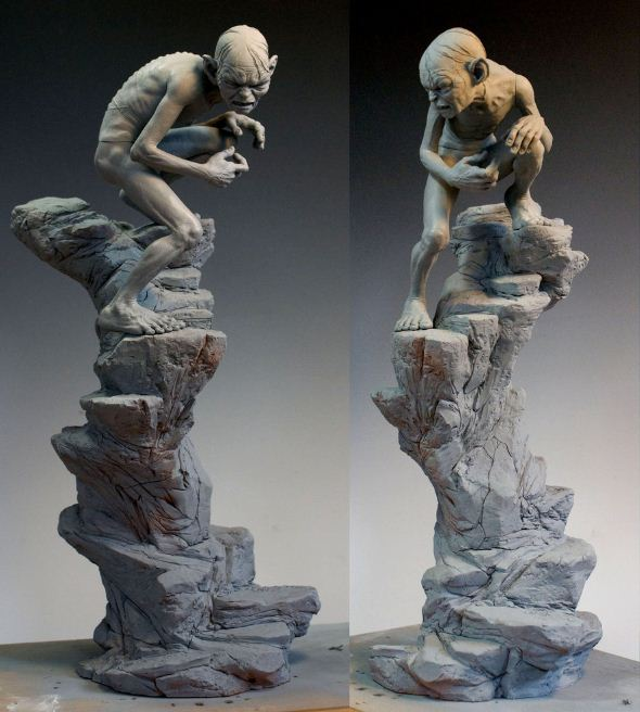 Mark Newman. Мелкая скульптура. Восьмая