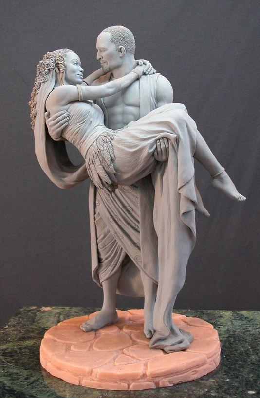 Mark Newman. Мелкая скульптура. Жених и невеста
