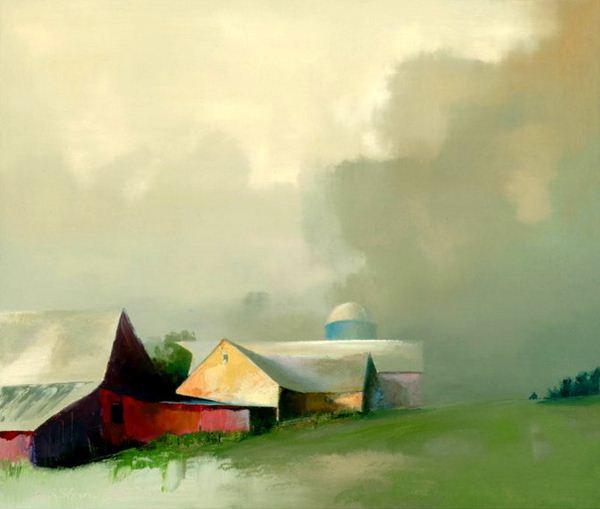 Paul Stone. Минимализм в живописи. Картина четвертая