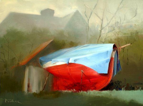 Paul Stone. Минимализм в живописи. Картина десятая