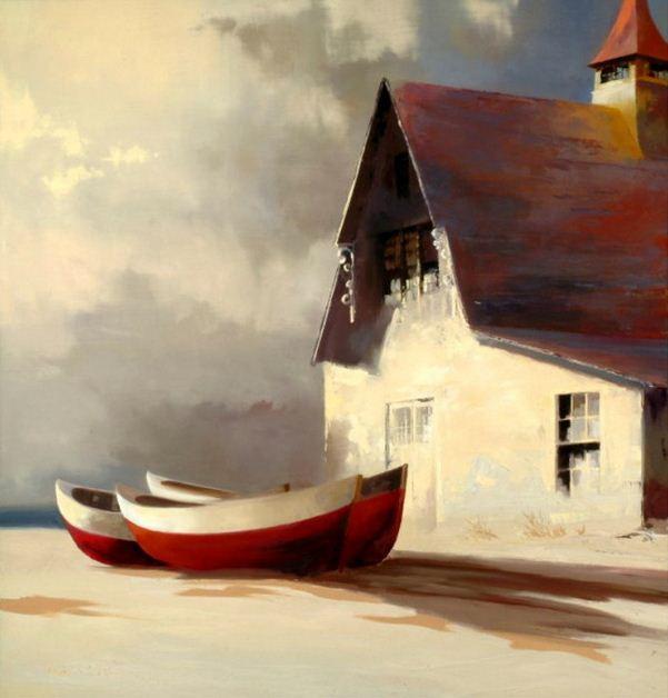 Paul Stone. Минимализм в живописи. Картина восьмая