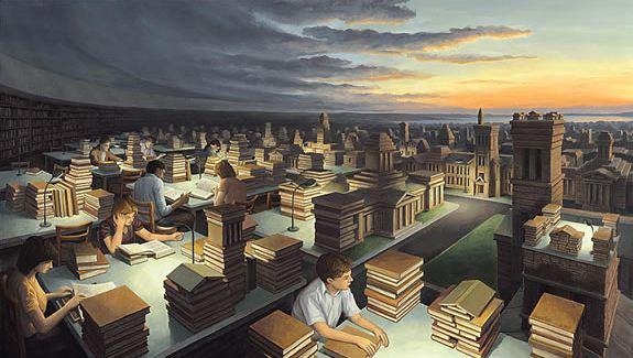 Rob Gonsalves. Иллюзии в картинах. Chess Master
