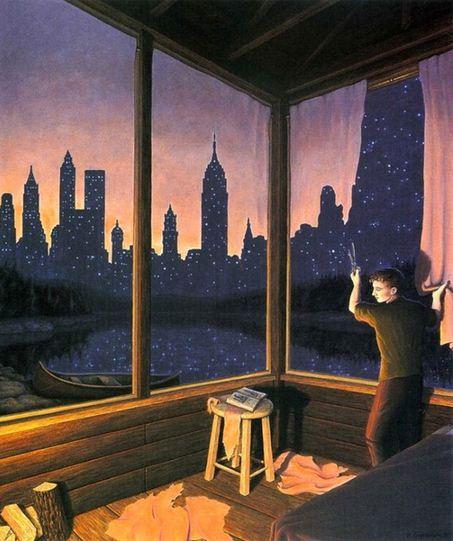 Rob Gonsalves. Иллюзии в картинах. Девятая
