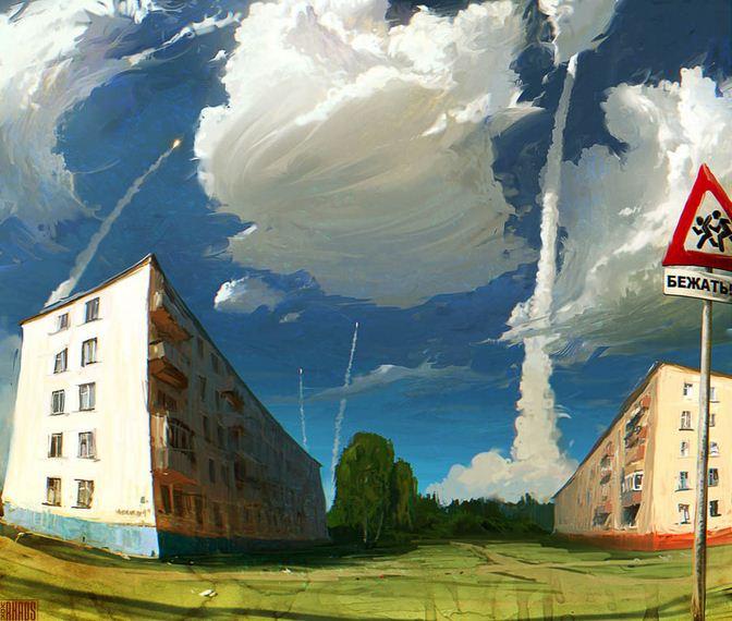 Артём Чебоха. Rhads. Цифровое искусство. Они хотят убить наше небо