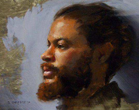 Cheifetz David. Портрет