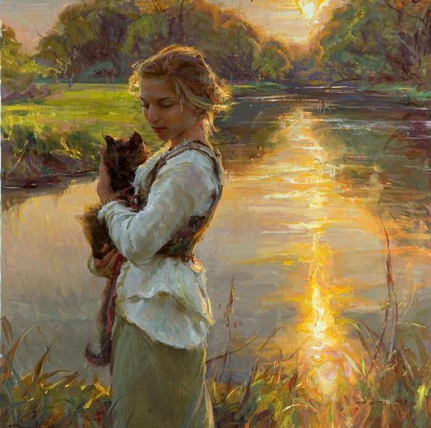 Daniel F. Gerhartz. Американская современная живопись. Картина четвертая