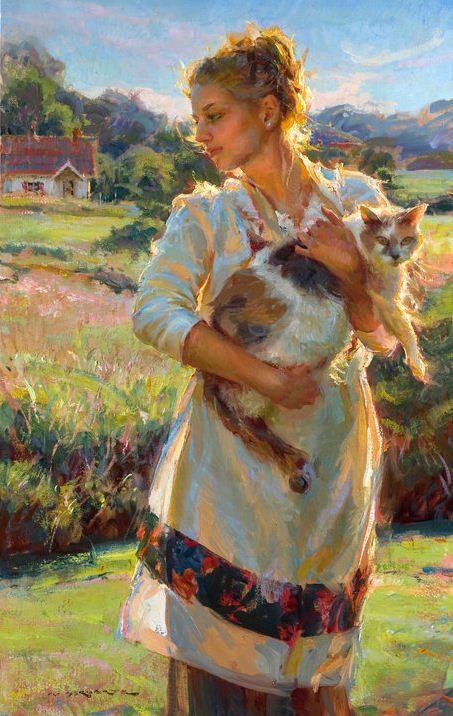 Daniel F. Gerhartz. Американская современная живопись. Картина девятая