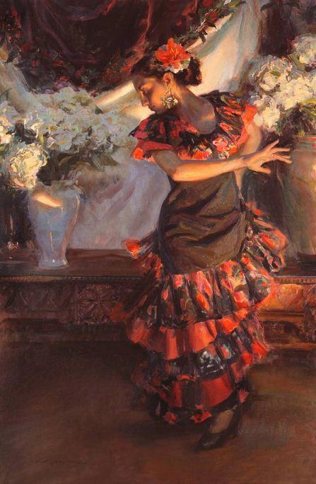 Daniel F. Gerhartz. Американская современная живопись. Картина девятнадцатая