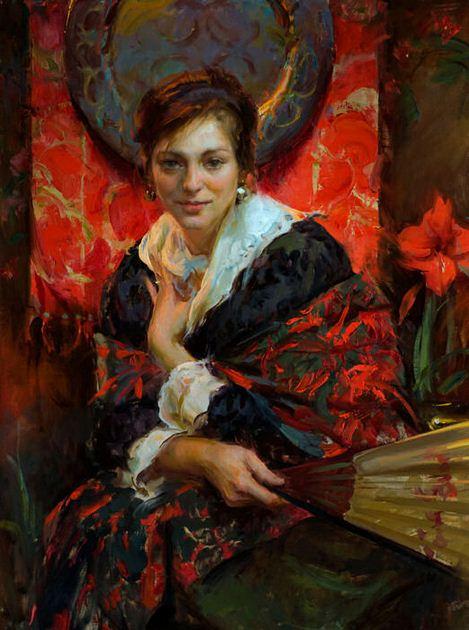 Daniel F. Gerhartz. Американская современная живопись. Картина двенадцатая