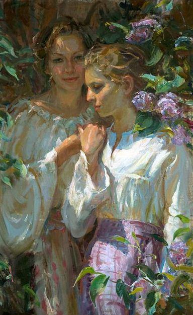 Daniel F. Gerhartz. Американская современная живопись. Картина одинадцатая