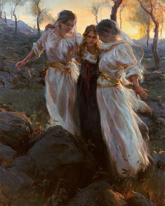 Daniel F. Gerhartz. Американская современная живопись. Картина первая