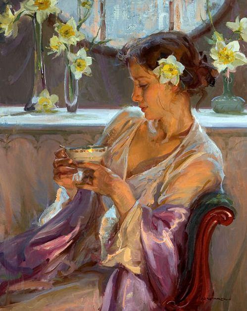 Daniel F. Gerhartz. Американская современная живопись. Картина пятая