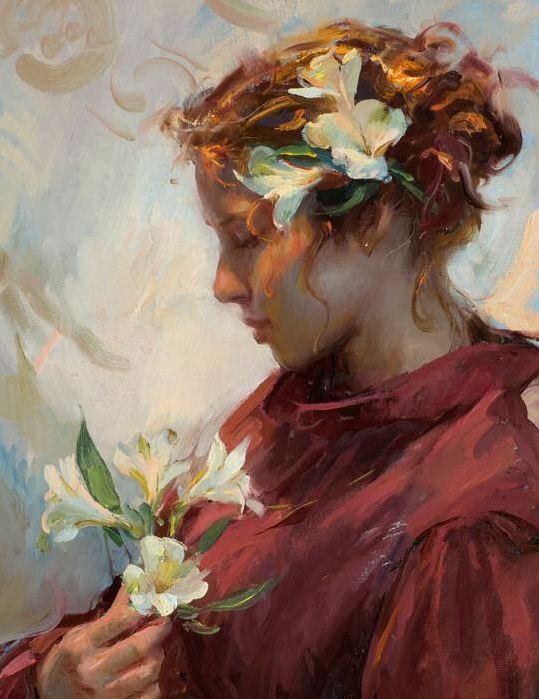 Daniel F. Gerhartz. Американская современная живопись. Картина пятнадцатая