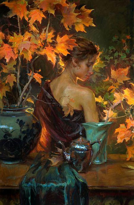 Daniel F. Gerhartz. Американская современная живопись. Картина седьмая