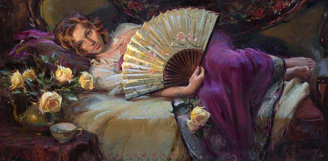 Daniel F. Gerhartz. Американская современная живопись. Картина семнадцатая