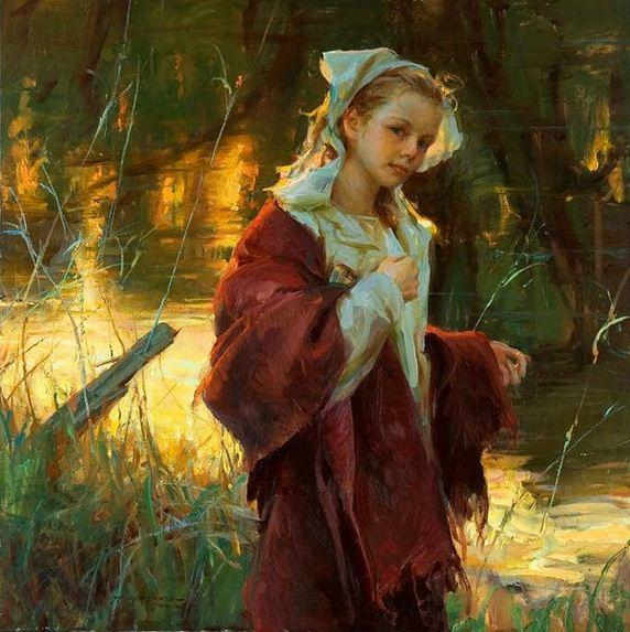 Daniel F. Gerhartz. Американская современная живопись. Картина шестнадцатая