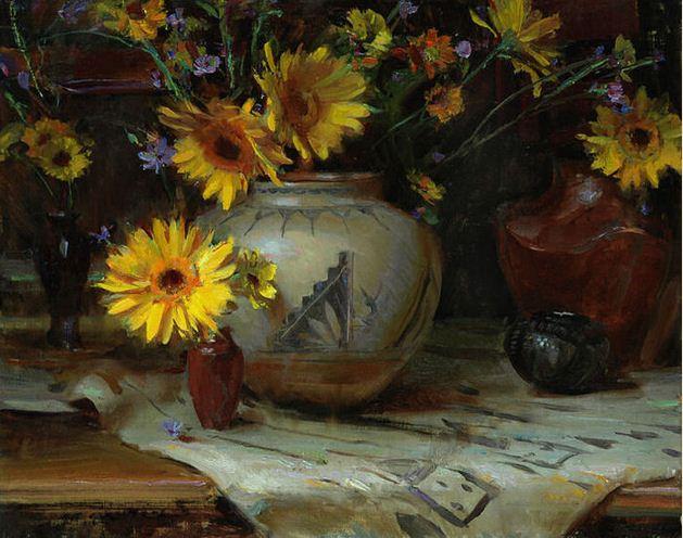 Daniel F. Gerhartz. Американская современная живопись. Картина третья