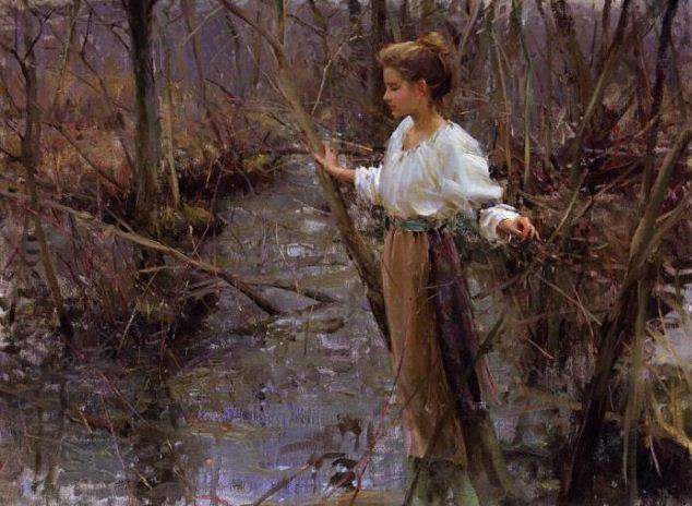 Daniel F. Gerhartz. Американская современная живопись. Картина тринадцатая