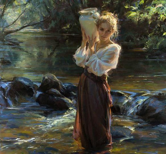 Daniel F. Gerhartz. Американская современная живопись. Картина восемнадцатая