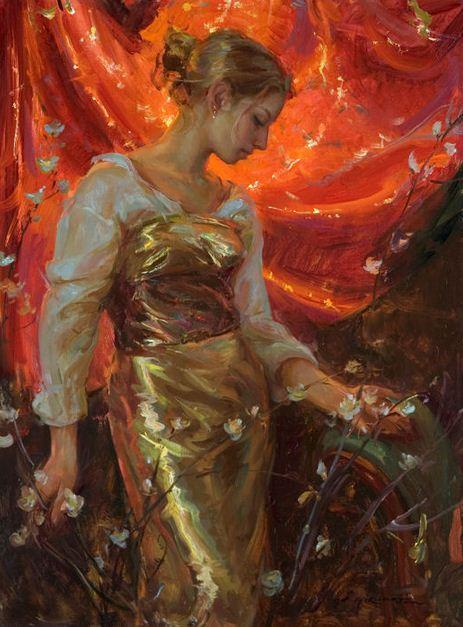 Daniel F. Gerhartz. Американская современная живопись. Silk
