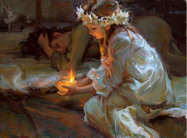 Daniel F. Gerhartz. Американская современная живопись. The Dawn of Hope
