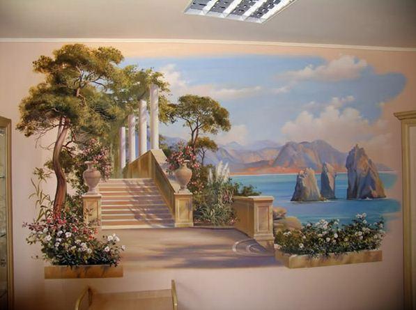 Сергей Брандт. Роспись стен. Двенадцатая