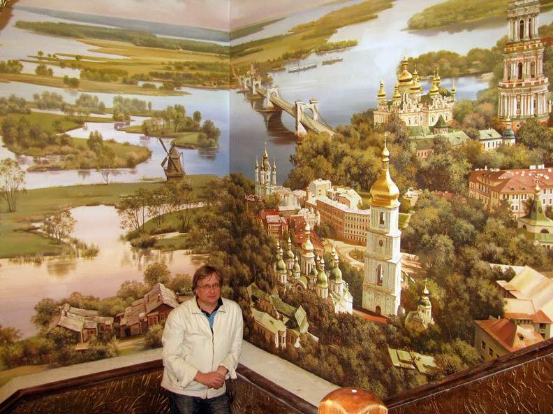 Сергей Брандт. Роспись стен. Шестнадцатая