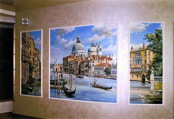 Сергей Брандт. Роспись стен. Тринадцатая