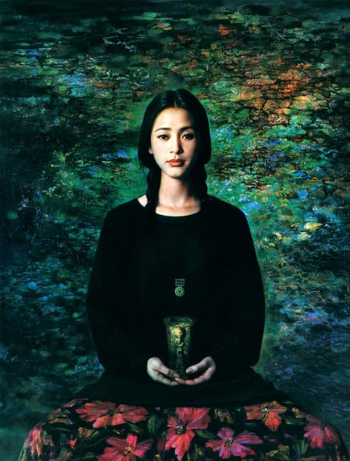 Xie Chuyu. Китайский портрет. Двенадцатый