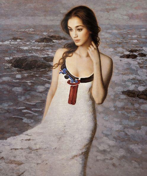 Xie Chuyu. Китайский портрет. Listen to the Sea
