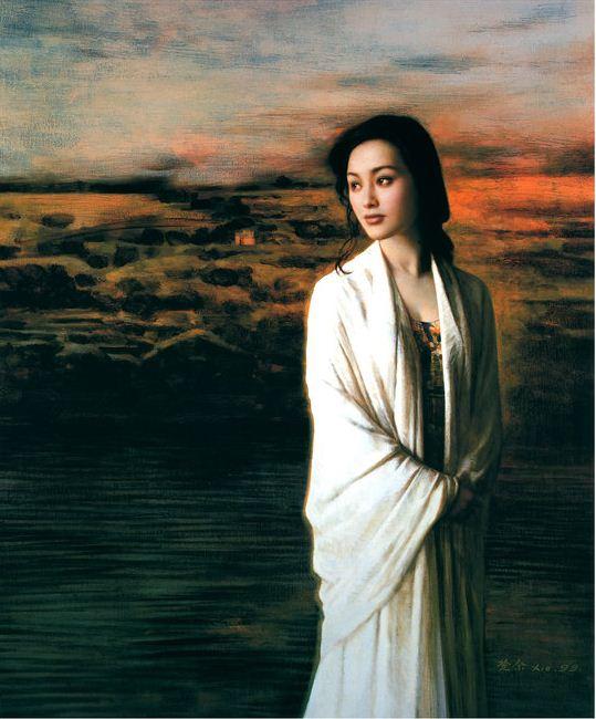 Xie Chuyu. Китайский портрет. Одинадцатый
