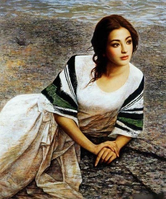 Xie Chuyu. Китайский портрет. Пятнадцатый
