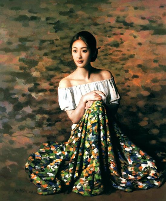 Xie Chuyu. Китайский портрет. Шестой