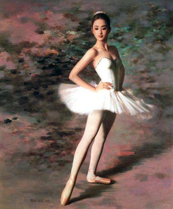 Xie Chuyu. Китайский портрет. Семнадцатый