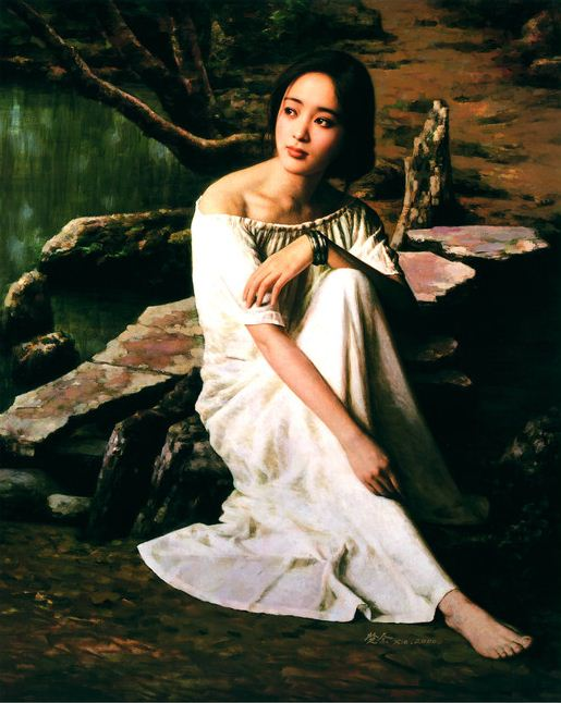 Xie Chuyu. Китайский портрет. Восьмой