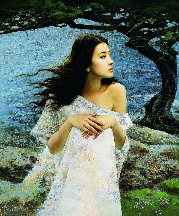 Xie Chuyu. Китайский портрет. Второй