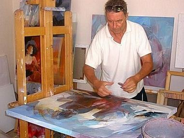 Willem Haenraets за работой
