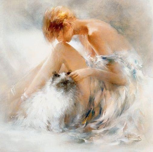 Willem Haenraets. Воздушная живопись. Desire
