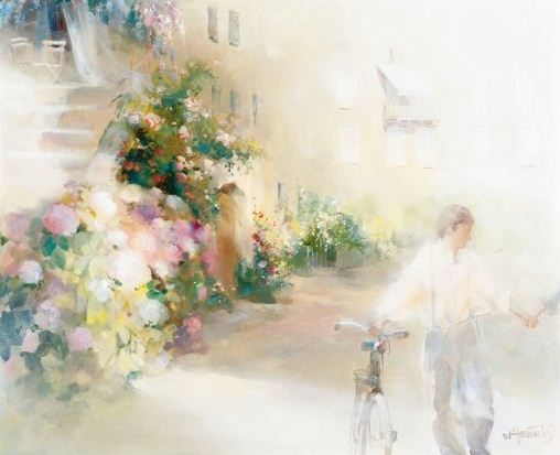 Willem Haenraets. ��������� ��������. TWO HAPPY PEOPLE