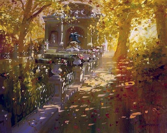 Laurent Parcelier. Современный французский импрессионизм. Картина десятая