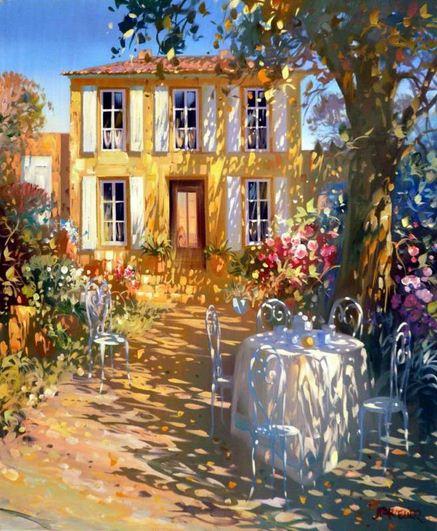 Laurent Parcelier. Современный французский импрессионизм. Картина двенадцатая