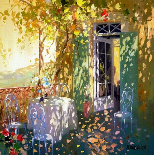 Laurent Parcelier. Современный французский импрессионизм. Картина седьмая