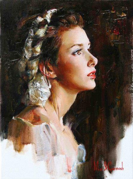 Михаил и Инесса Гармаш. Портреты живопись. Картина девятнадцатая