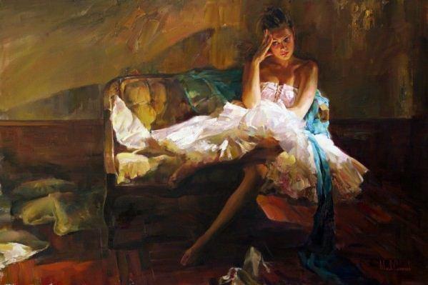 Михаил и Инесса Гармаш. Портреты живопись. Картина двадцать четвертая