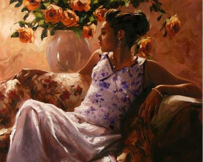 Михаил и Инесса Гармаш. Портреты живопись. Картина двадцать третья