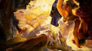 Михаил и Инесса Гармаш. Портреты живопись. Картина пятая